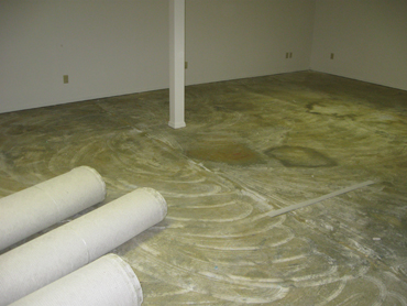 Capet Installation - Before