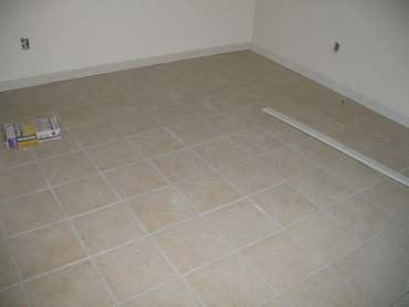 Ceramic Tile Installation - After