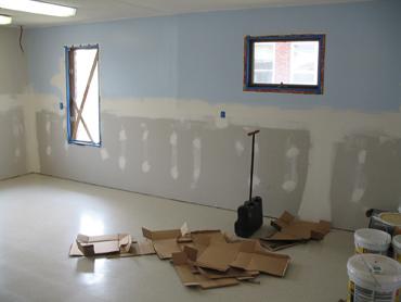 VCT Flooring Tiles - After