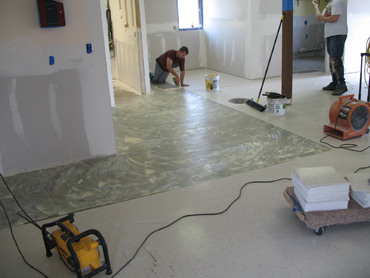 VCT Flooring Tiles - During