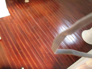 Wood Floor Repair - After